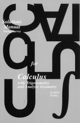 Saxon Calculus Solutions Manual - Homeschool Kit | Oak Meadow Bookstore