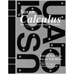 Saxon Homeschool Calculus Curriculum with Trigonometry & Analytic Geometry | Oak Meadow Bookstore