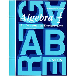Saxon Algebra 1/2 Homeschool Kit: An Incremental Development | Oak Meadow Bookstore