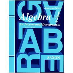 Saxon Algebra 1/2 Homeschool Kit: An Incremental Development | Oak Meadow Bookstore