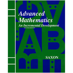 Saxon Advanced Mathematics Homeschool Kit | Oak Meadow Bookstore