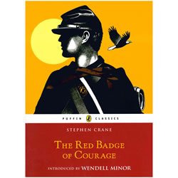 The Red Badge of Courage by Stephen Crane Book Cover | Oak Meadow Bookstore
