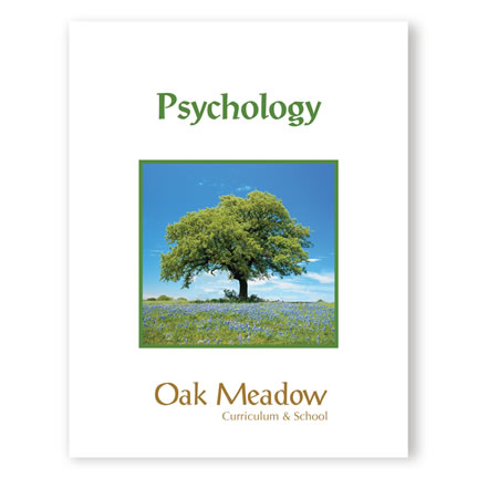 Psychology Coursebook - High School Social Studies Course | Oak Meadow Bookstore