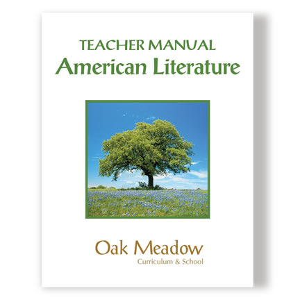 American Literature Teacher Manual - High School | Oak Meadow Bookstore