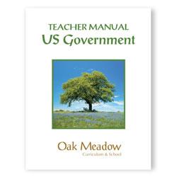US Government: Teacher Manual | Oak Meadow Bookstore