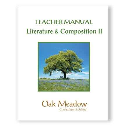Literature & Composition II - Teacher Manual | Oak Meadow Bookstore