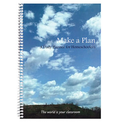 Make A Plan: A Daily Planner for Homeschoolers | Oak Meadow Bookstore