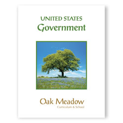 United States Government Coursebook - Digital | Oak Meadow Bookstore