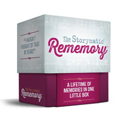 The Storymatic Rememory Game: A Lifetime of Memories in One Little Box | Oak Meadow Bookstore