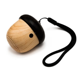 Wooden Acorn Bluetooth Speaker | Oak Meadow Bookstore