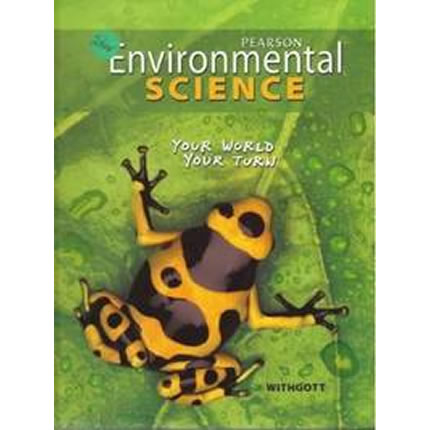 Pearson Environmental Science, Your World, Your Turn - High School Science | Oak Meadow Bookstore