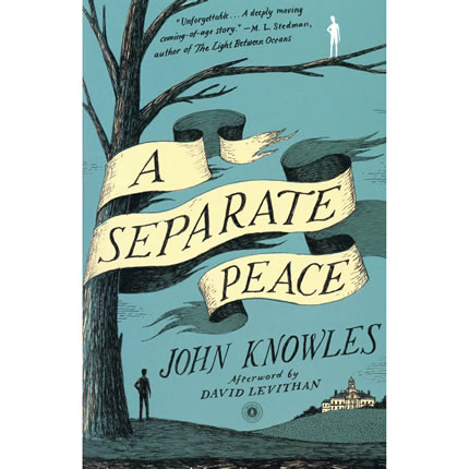 A Separate Peace by John Knowles - High School English | Oak Meadow Bookstore