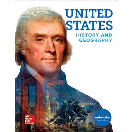 United States History & Geography Textbook, McGraw Hill | Oak Meadow Bookstore