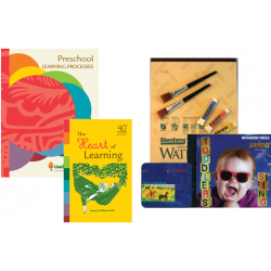 Preschool Package: Preschool Learning Processes, The Heart of Learning, Watercolors, CD | Oak Meadow Bookstore