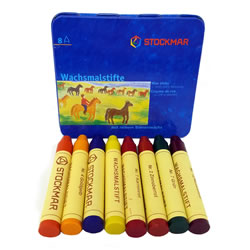 Beeswax Crayons - Stick, Stockmar | Oak Meadow Bookstore