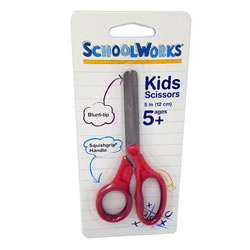Scissors (5 Blunt) - School Works Kids Scissors | Oak Meadow Bookstore