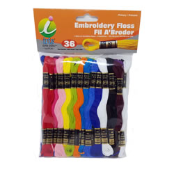 Embroidery Thread Kit (36-pack)