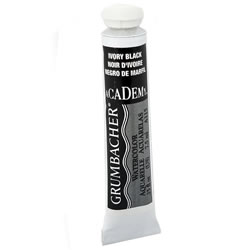 Watercolor Paint (Black) - Grumbacher | Oak Meadow Bookstore