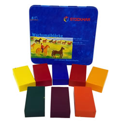 Stockmar Beeswax Crayons - Block Style | Oak Meadow Bookstore