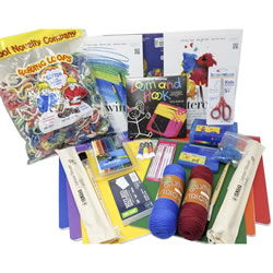 Second Grade Craft Kit | Oak Meadow Bookstore