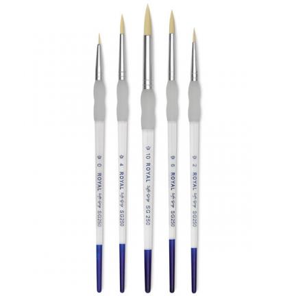 Round Brush Set (Sizes 0,2,4,6,10)