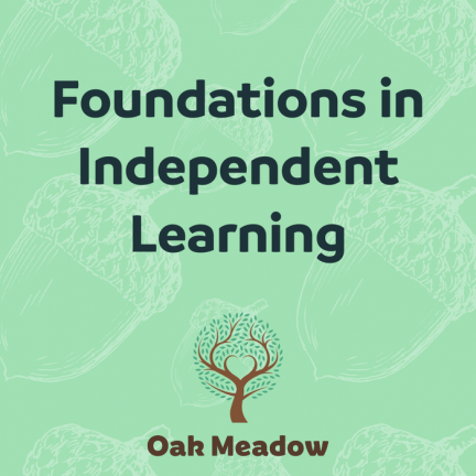 Foundations in Independent Learning | Oak Meadow Bookstore