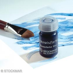 Stockmar Watercolour Paint 50 ml - Color Circle Colors - Blue