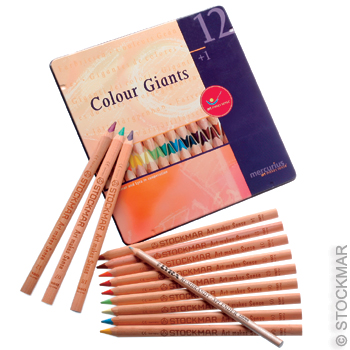 Mercurius Colour Giants Waldorf Assortment (12 colors)
