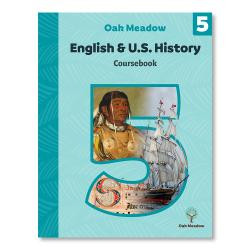 English & U.S. History Coursebook | Oak Meadow Bookstore