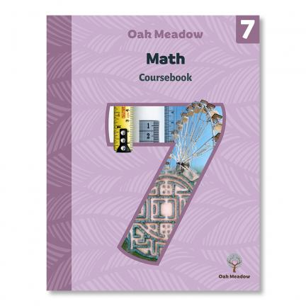 Grade 7 Math Coursebook | Oak Meadow Bookstore