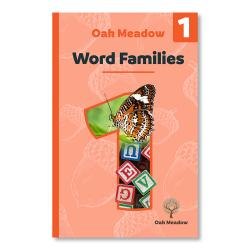 Word Families - Digital | Oak Meadow Bookstore