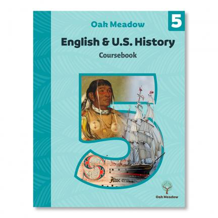 English & United States History Grade 5 - Digital | Oak Meadow Bookstore
