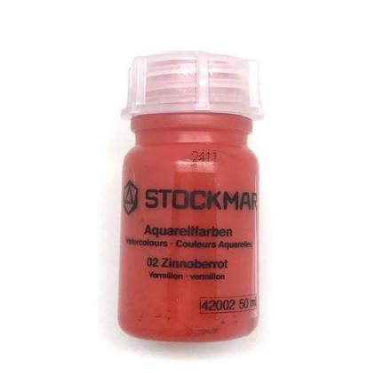 Stockmar Watercolour Paint  - Vermillion