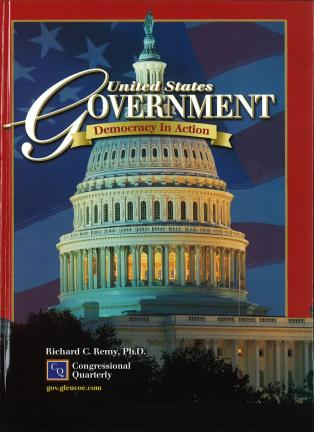 United States Government: Democracy in Action - Glencoe Textbook | Oak Meadow Bookstore