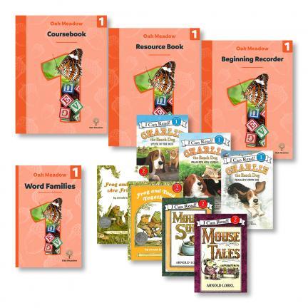 First Grade Curriculum Package + Grade 1 Readers | Oak Meadow Bookstore