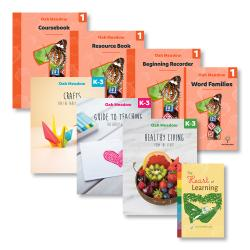 Grade 1 + K-3 Enrichment Package - Digital | Oak Meadow Bookstore