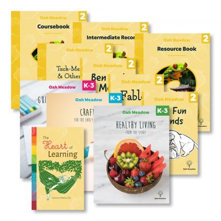 Grade 2 + K-3 Enrichment Package - Digital | Oak Meadow Bookstore