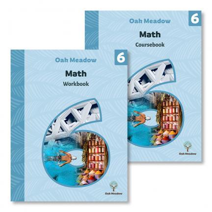 6th Grade Math Package (Includes Coursebook & Workbook) | Oak Meadow Bookstore