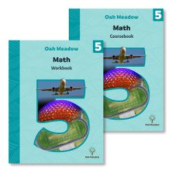Grade 5 Math Package (Includes Coursebook and Workbook) | Oak Meadow Bookstore