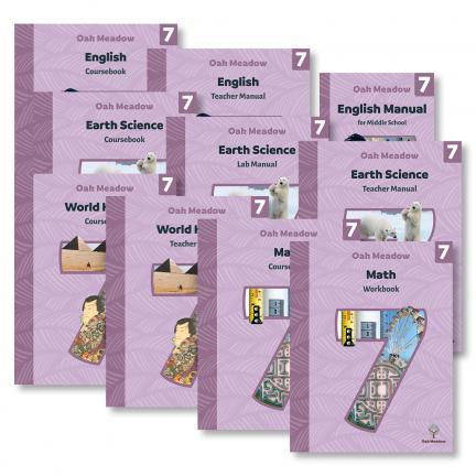 Grade 7 Curriculum Package - Digital | Oak Meadow Bookstore