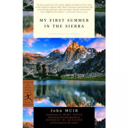 My First Summer in the Sierra by John Muir | Oak Meadow Bookstore