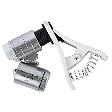 60x Clip-On Microscope   Oak Meadow Bookstore
