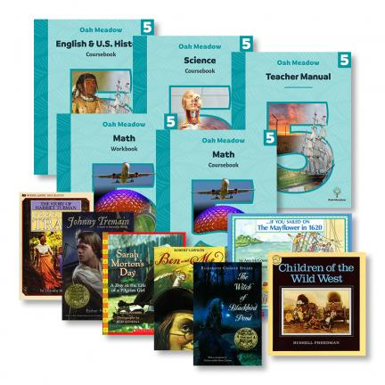 5th Grade Curriculum Package | Oak Meadow Bookstore