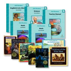 Fifth Grade Curriculum Package + Grade 5 Books | Oak Meadow Bookstore