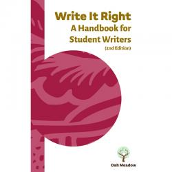 Write It Right: A Handbook for Student Writers, 2nd Edition