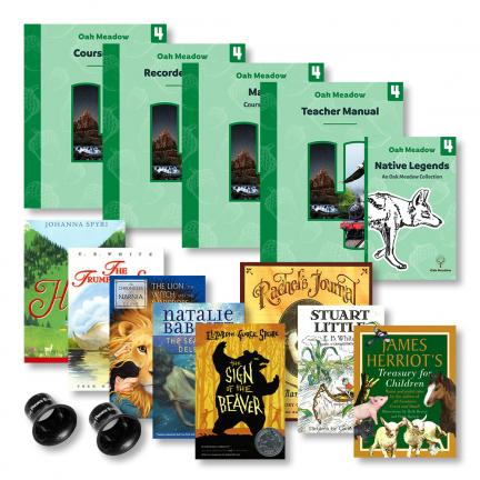 Fourth Grade Curriculum Package + Grade 4 Books | Oak Meadow Bookstore