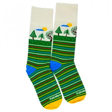 Oak Meadow Socks (Youth Crew) - Meadow Merch | Oak Meadow Bookstore