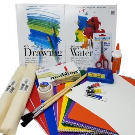 Third Grade Craft Kit with Main Lesson Books | Oak Meadow Bookstore
