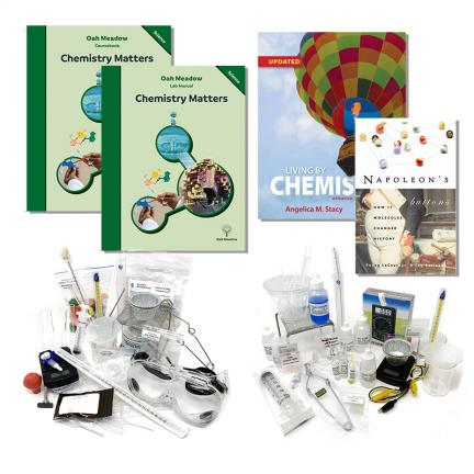 Chemistry Matters Course Package | Oak Meadow Bookstore