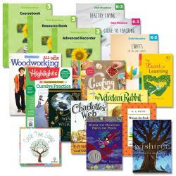 Grade 3 + K-3 Essentials Package   Oak Meadow Bookstore